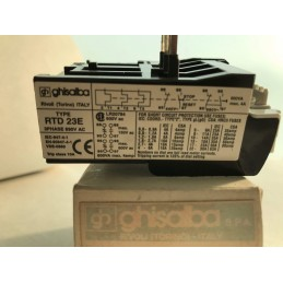 RELE' TERMICO GHISALBA RTD23E 17-32A (THERMAL OVERLOAD RELAY)