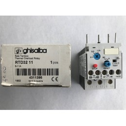 RELE' TERMICO GHISALBA RTD32 8-11A (THERMAL OVERLOAD RELAY)