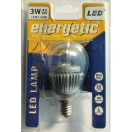 Lampadina LED E14 con sfera...