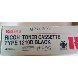 RICOH TONER CASSETTE TYPE 1210D BLACK ORIGINALE CODE H190-54
