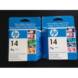 HP 14 - CARTUCCIA TRICOLOR...