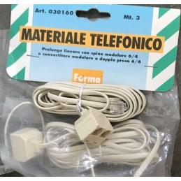 CAVO TELEFONICO PROLUNGA 3...