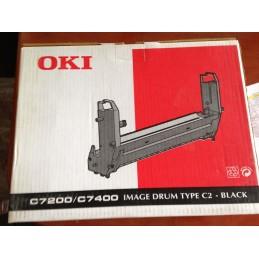 OKI IMAGE DRUM TYPE C2 BLACK C7200/C7400 ORIGINALE CODE 41304112