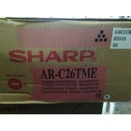 SHARP TONER AR-C26TME MAGENTA ORIGINALE