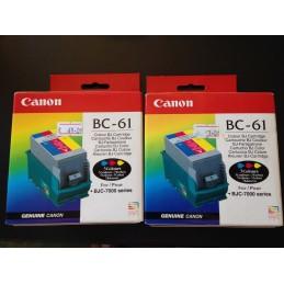 CANON BC- 61 CARTUCCIA COLOR ORIGINALE CODE 0918A003AA