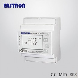 EASTRON SDM 630 COUNTER METER ENERGY MULTIFUNCTION DIGITAL 3 PHASE 400V 100A